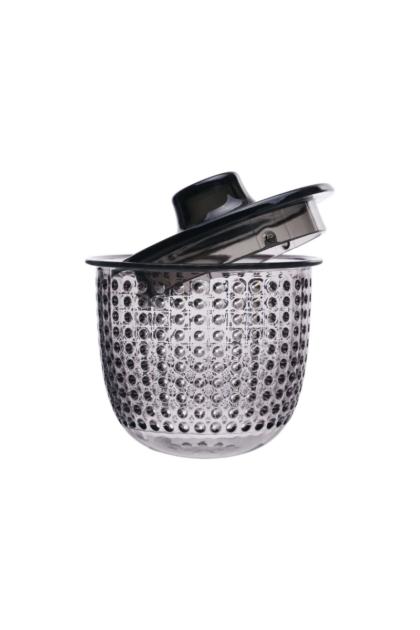 Φίλτρο για κούπα unimug γκρι, γκρι πλαστικό φίλτρο για παρασκευή βοτανικών ροφημάτων και τσάι