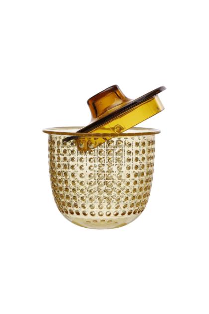 Φίλτρο για κούπα unimug κίτρινο, κίτρινο πλαστικό φίλτρο για παρασκευή βοτανικών ροφημάτων και τσάι