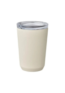 Kinto to go mug in vanilla color.
